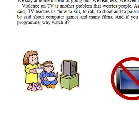 Television advantage and disadvantage essay